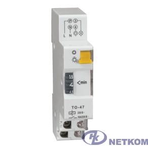 Iek MTA30-16 Таймер ТО47 освещения 16А 230В на DIN-рейку ИЭК