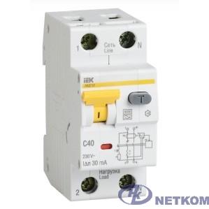Iek MAD22-5-063-C-100 АВДТ 32 C63 100мА  - Автоматический Выключатель Дифф. тока