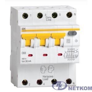 Iek MAD22-6-050-C-300 АВДТ 34 C50 300мА - Автоматический Выключатель Дифф. тока