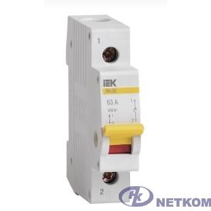 Iek MNV10-1-025 Выключатель нагрузки (мини-рубильник) ВН-32 1Р 25А ИЭК