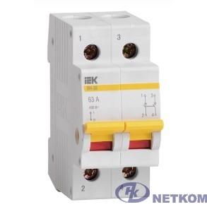 Iek MNV10-2-025 Выключатель нагрузки (мини-рубильник) ВН-32 2Р  25А ИЭК