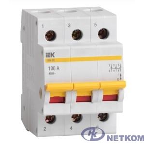 Iek MNV10-3-020 Выключатель нагрузки (мини-рубильник) ВН-32 3Р  20А ИЭК