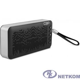 CBR CMS 144Bt черный/серебро {Bluetooth колонка 3.0, 80-18000 Гц, 6 Вт}