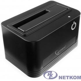 "Gembird HD32-U3S-4 Докстанция 2.5""/3.5"" черный, USB 3.0, SATA, HDD/SSD"
