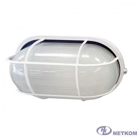 Iek LNPP0-1202-1-100-K01 Светильник НПП1202 белый/овал с реш. 100Вт IP54  ИЭК