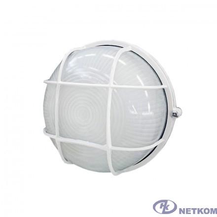 Iek LNPP0-1302-1-060-K01 Светильник НПП1302 белый/круг с реш.60Вт IP54  ИЭК