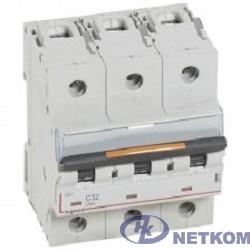 Legrand 409790 Автоматический выключатель DX3 3П C125 25кА