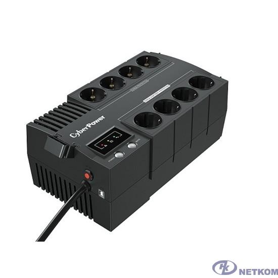 UPS CyberPower BS650E NEW 650VA/390W USB, (4+4 EURO) [272765]