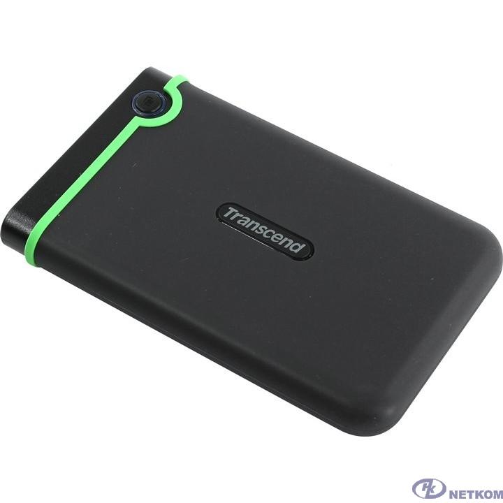 "Transcend Portable HDD 2Tb StoreJet TS2TSJ25M3S {USB 3.0, 2.5"", black-green}"