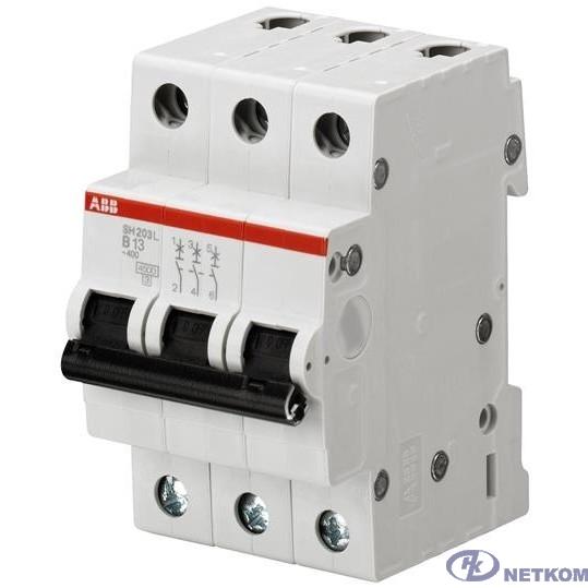 ABB 2CDS243001R0404 Автоматич.выкл-ль 3-пол. SH203L C40