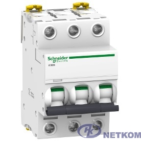Schneider-electric A9F79320 АВТ. ВЫКЛ.iC60N 3П 20A C