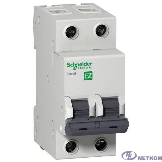 Schneider-electric EZ9F34263 АВТ. ВЫКЛ. EASY 9 2П 63А С 4,5кА 230В =S=