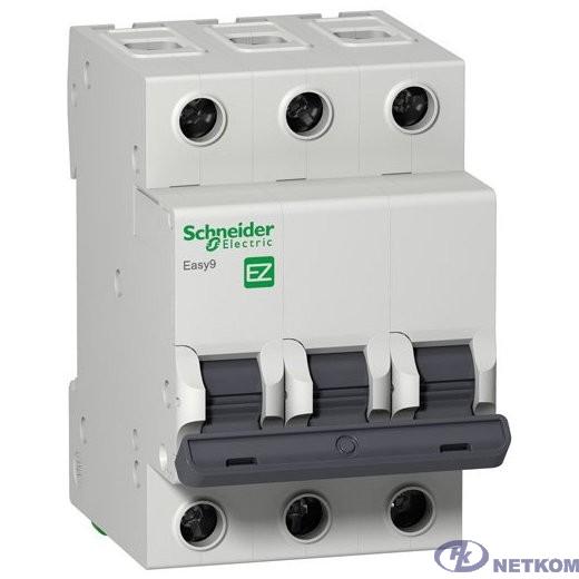 Schneider-electric EZ9F34363 АВТ. ВЫКЛ. EASY 9 3П 63А С 4,5кА 400В =S=