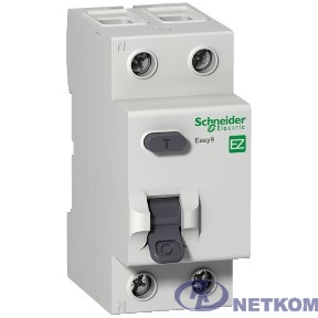 Schneider-electric EZ9R64240 ДИФ. ВЫКЛ. EASY 9 (УЗО) 2П 40А 300мА AC 230В =S=