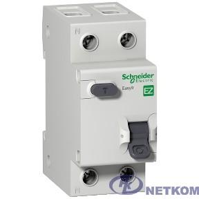 Schneider-electric EZ9D34625 ДИФ. АВТ. ВЫКЛ. EASY 9 1П+Н 25А 30мА C AC 4,5кА 230В =S=
