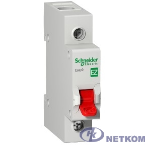 Schneider-electric EZ9S16140 ВЫКЛ. НАГРУЗКИ EASY9 (мод. рубильник) 1П 40А 230В =S=