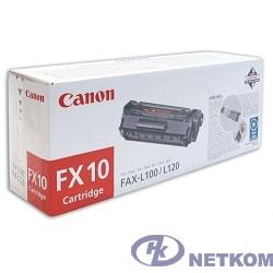 Canon FX-10 0263B002 Картридж для L100 / L120, Черный, 2000стр (GR)
