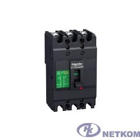 Schneider-electric EZC100N3050 3П3Т АВТ. ВЫКЛ. EZC100 18 кА/380В 50 A