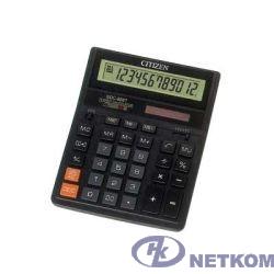Калькулятор бухгалтерский Citizen SDC-888TII черный {настольный, 12 разрядн., дв. пит., 2 памяти, коррект.} [17241]