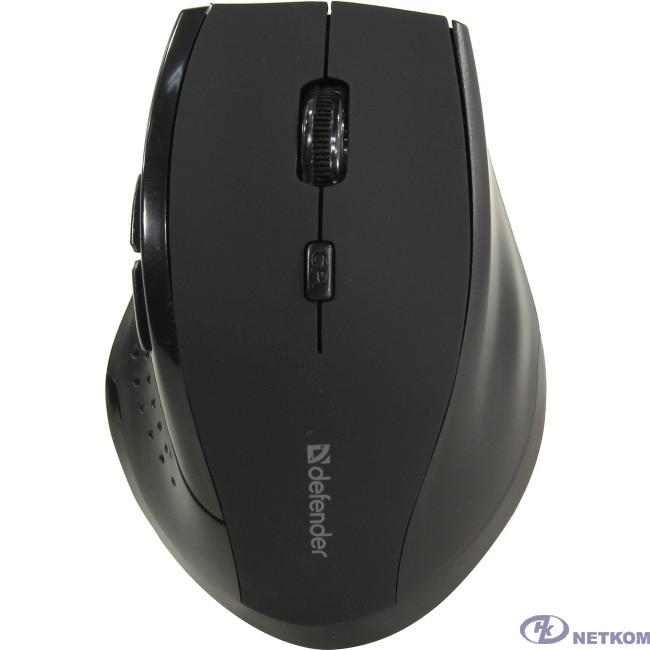 Defender Accura MM-365 черный {Беспроводная оптическая мышь, 6 кнопок, 800-1600 dpi} [52365]
