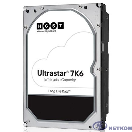 """4Tb WD Ultrastar DC HC310 {SATA 6Gb/s, 7200 rpm, 256mb buffer, 3.5""""} [0b36040/HUS726T4TALE6L4]"""