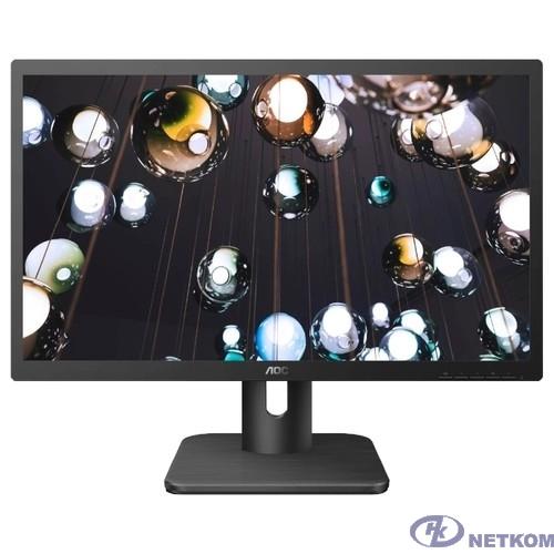 """LCD AOC 21.5"""" 22E1Q черный {MVA 1920x1080 5ms 178/178 250cd 20M:1 HDMI(1.4) DisplayPort(1.2) AudioOut 2x2W}"""