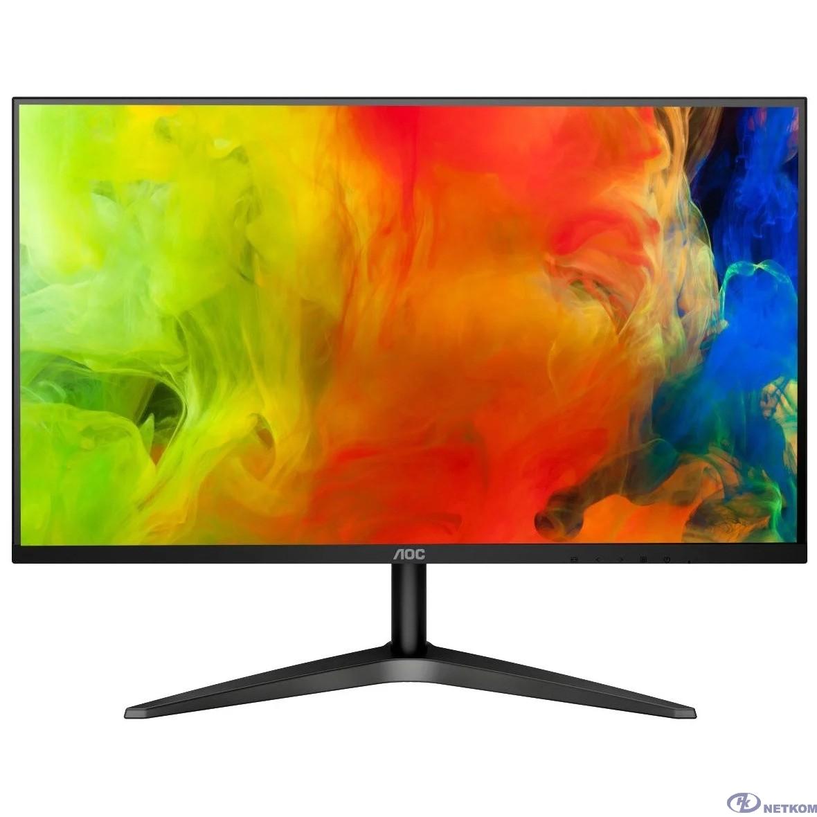 "LCD AOC 23.8"" 24B1XH черный {IPS 1920x1080 8ms 178/178 250cd 50M:1 HDMI(1.4)}"