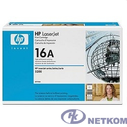 HP Q7516A Картридж ,Black{LaserJet 5200, Black, (12 000 стр.)}