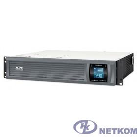 APC Smart-UPS C 3000VA SMC3000R2I-RS {Line-Interactive, 3000VA / 2100W, Rack, IEC, LCD, USB}