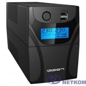 Ippon Back Power Pro II 600 black {1030300}