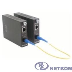 D-Link DMC-1910R/A9A WDM медиаконвертер с 1 портом 1000Base-T и 1 портом 1000Base-LX с разъемом SC (Tx: 1310 нм; Rx: 1550 нм) для одномодового оптического кабеля (до 15 км)