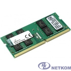 Kingston DDR4 SODIMM 16GB KVR26S19D8/16 PC4-21300, 2666MHz, CL19