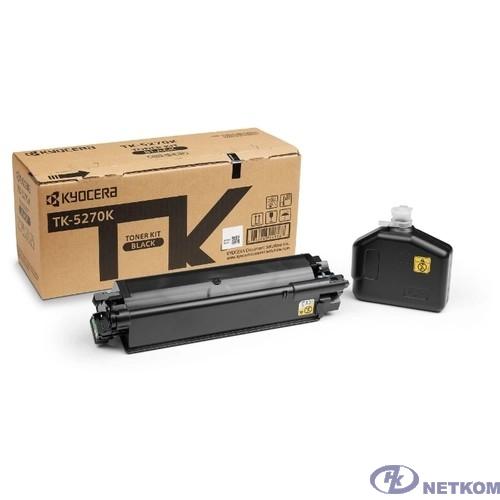 Kyocera-Mita TK-5270K Тонер-картридж,Black {P6230cdn/M6230cidn/M6630cidn (8000стр)}