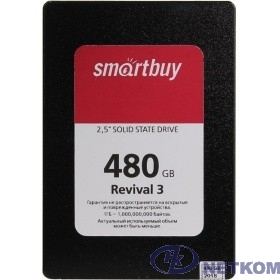 Smartbuy SSD 480Gb Revival 3 SB480GB-RVVL3-25SAT3 {SATA3.0, 7mm}