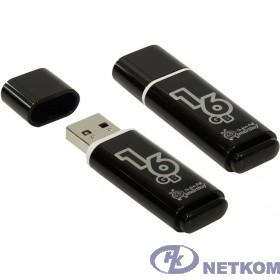 Smartbuy USB Drive 16Gb Glossy series Black SB16GBGS-K