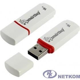 Smartbuy USB Drive 16Gb Crown White SB16GBCRW-W