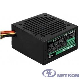 Aerocool 600W VX-600 PLUS (24+4+4pin) 120mm fan 3xSATA RTL