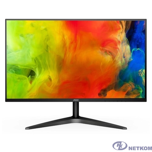 """LCD AOC 27"""" 27B1H черный  {IPS 1920x1080 5ms 178°/178° 250 cd/m  1000:1 (DCR 50M:1) D-Sub HDMI AudioOut}"""