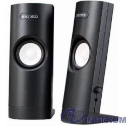 MICROLAB B-18 черный {(USB), 2.0, 4.8 Вт RMS, 100Hz-20000Hz, выход на наушники}