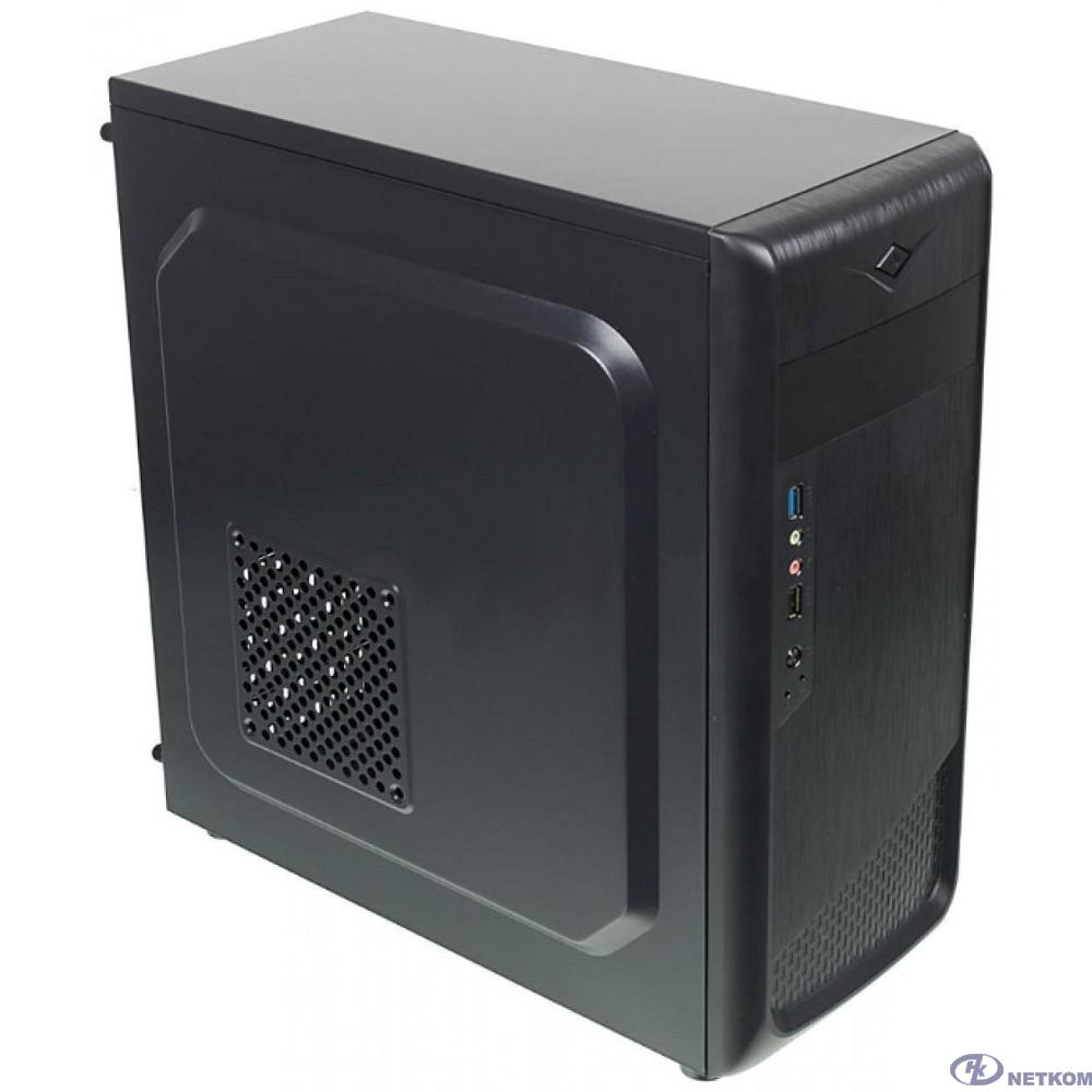 "Корпус Accord ACC-B307  Accord ACC-B307 черный без БП ATX 3x120mm 1xUSB2.0 1xUSB3.0 audio"""