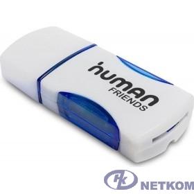 USB 2.0 Card reader CBR Human Friends Speed Rate Impulse Blue