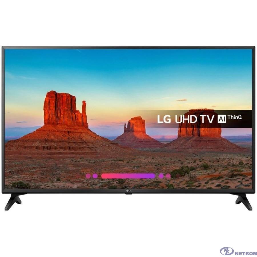"LG 49"" 49UK6200PLA черный {Ultra HD/50Hz/DVB-T2/DVB-C/DVB-S2/USB/WiFi/Smart TV}"