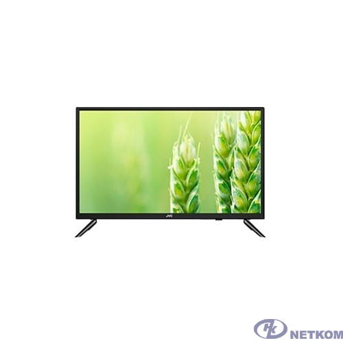 "JVC 24"" LT-24M580 черный {SmartTV (Android), HD, 1366x768, DVB-C, DVB-T, DVB-T2,  Слот CI/PCMCIA,  Яркость 200 Кд/м?,  Контрастность  3000:1, Угол обзора  160*150 , Телетекст, 3 HDMI, 2 USB}"