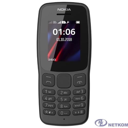 Nokia 106 DS TA-1114 GREY [16NEBD01A02]