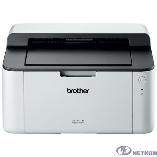 Brother HL-1110R Принтер, A4, 1Мб, 20стр/мин, GDI, USB, лоток 150л, старт.картридж 700стр (HL1110R1)