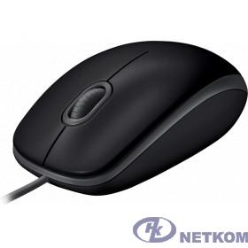 910-005508 Logitech B110 SILENT черный/серый [оптическая (1000dpi) USB2.0 для ноутбука (2but)]