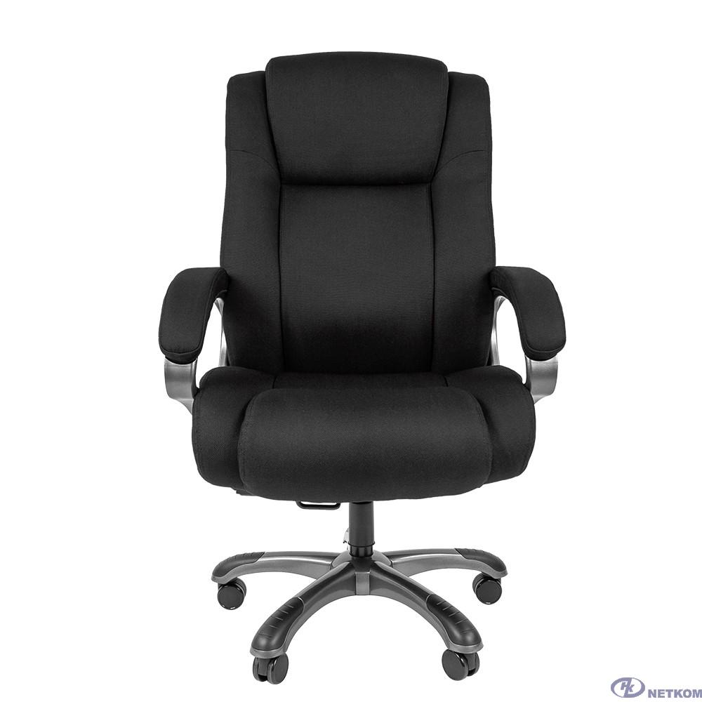 Офисное кресло Chairman 410 Россия ткань SX черная (7025870)