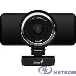 Web-камера Genius ECam 8000 Black {1080p Full HD, вращается на 360°, универсальное крепление, микрофон, USB} [32200001406]