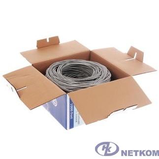 SkyNet Кабель UTP indoor 4x2x0,51, медный, FLUKE TEST, кат.5e, однож. (305м) box, серый [CSP-UTP-4-CU]
