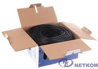 SkyNet Кабель FTP indoor 4x2x0,51, медный, FLUKE TEST, кат.5e, однож., 305 м, box, серый [CSP-FTP-4-CU]